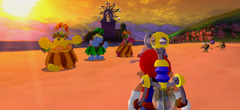 Super Mario Sunshine : prolongez vos vacances sur l'île Delfino