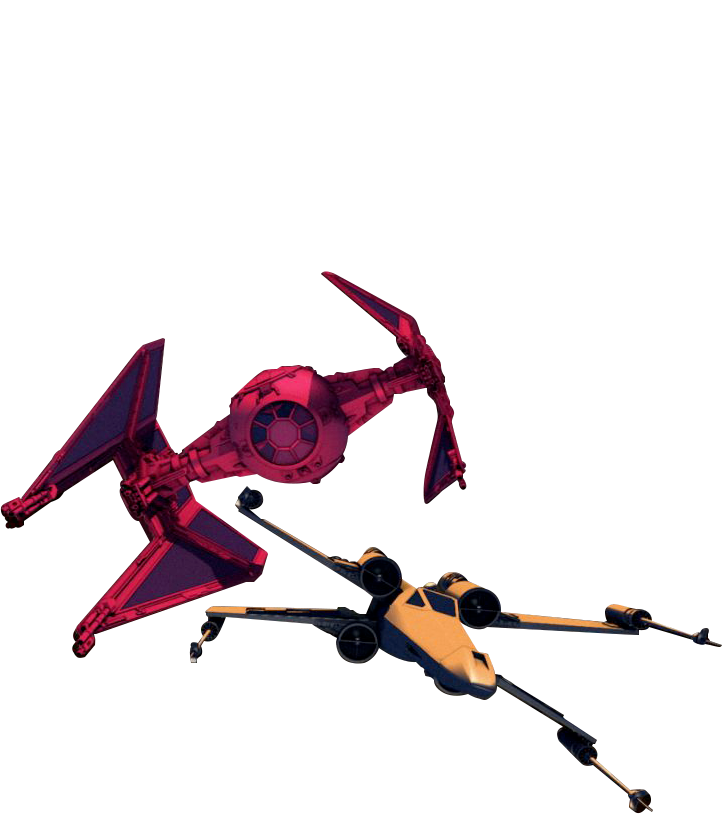 Tie Interceptor - X-Wing