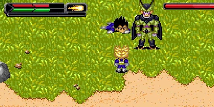 L'Héritage de Goku 2, un action-RPG sorti sur GBA