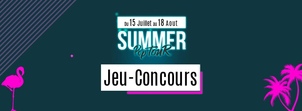 Concours Summer Pop Tour