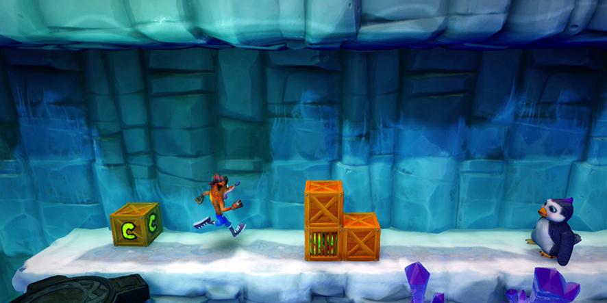 Un niveau dans Crash Bandicoot N'Sane Trilogy
