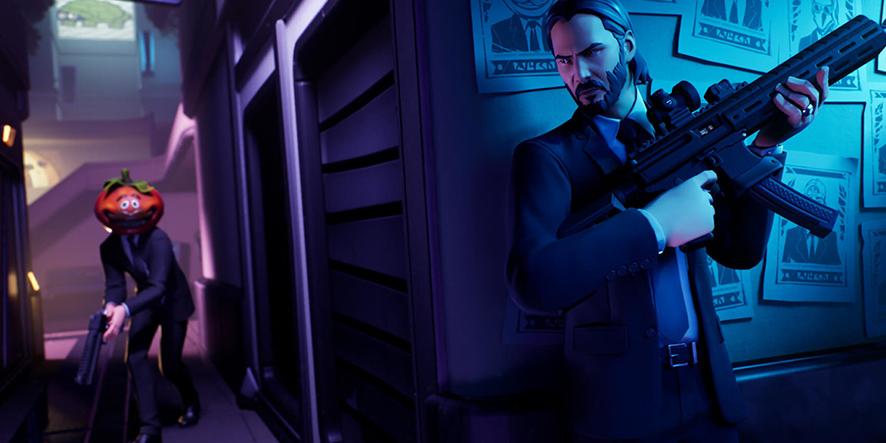 Le crossover entre John Wick et Fortnite