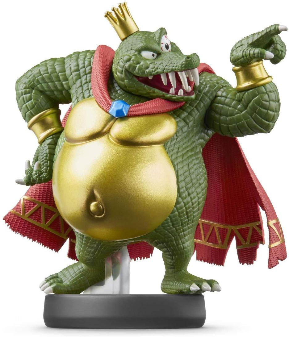 Figurine Amiibo N°67 Smash King K Rool